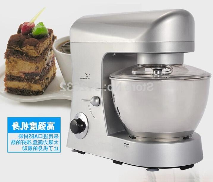 5L <font><b>mixer</b></font> with cover dough/egg/flour no hot selling 1000W/220V speed stand <font><b>mixer</b></font>