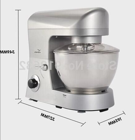 5L with cover dough/egg/flour <font><b>mixer</b></font> no dust hot speed stand