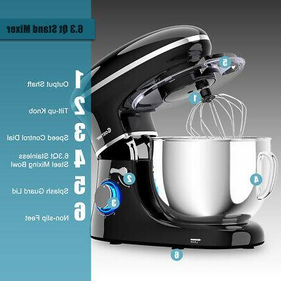 6.3 Stand 6 660W Whisk Black