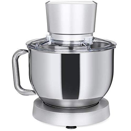 Best 660W Multifunctional Stainless Kitchen Mixer Attachments, Spatula, Splash