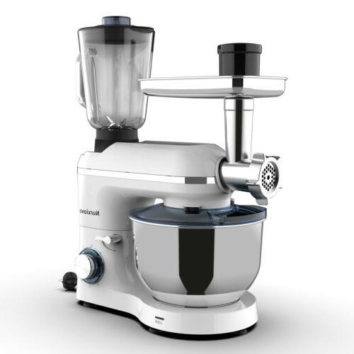 6 Stand Mixer Kitchen Food White