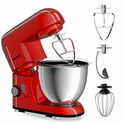 6-Speed Electric Food Stand Mixer Stainless