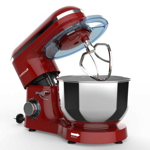 Food Tilt-Head Stainless Steel 660W Red