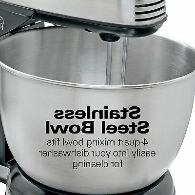 6 Hand Stand Mixer Electric Kitchen Baking Bread Dough Beater
