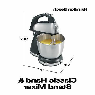 6 Hand and Stand Electric Kitchen Beater