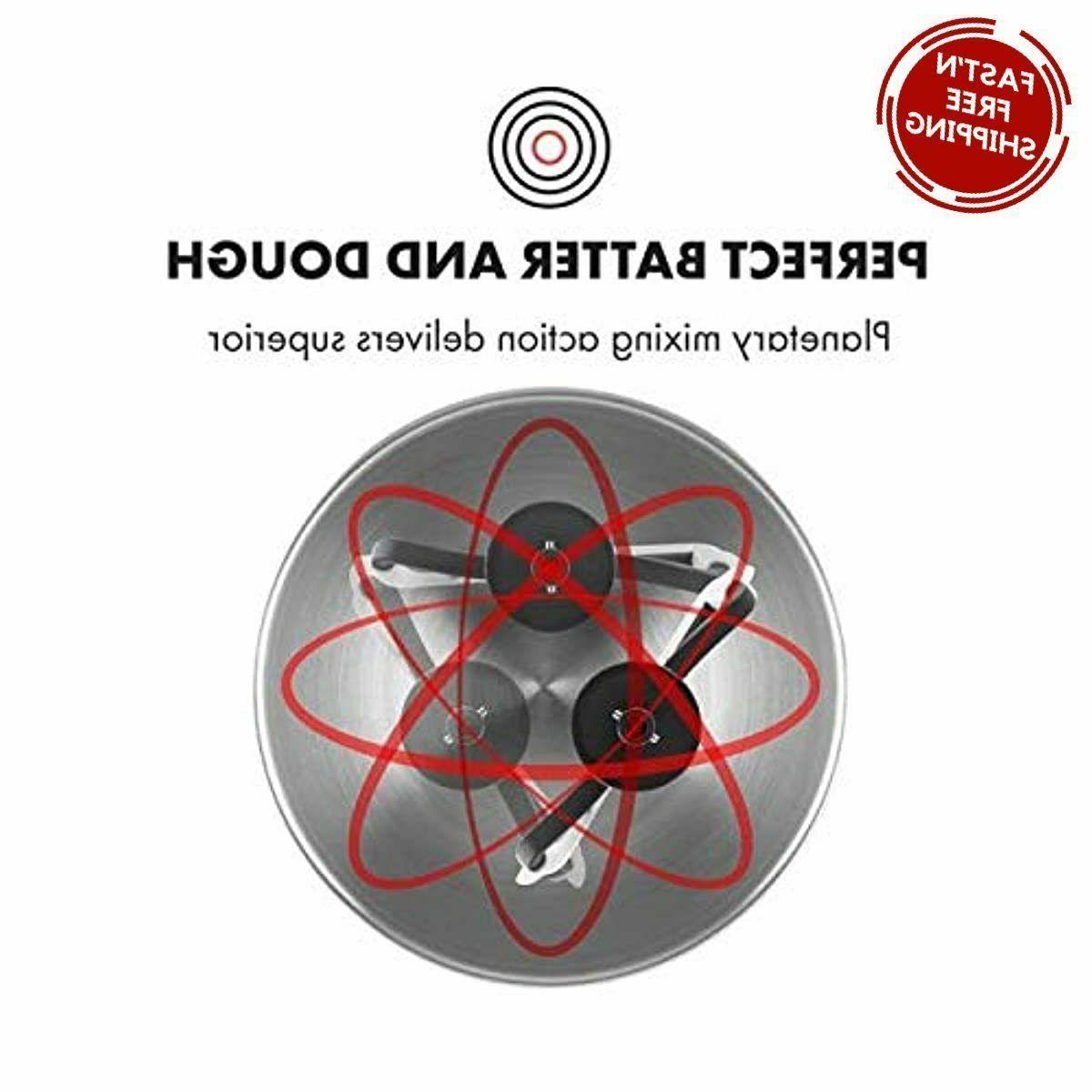 650 6-Speed Tilt Head Stand Mixer Qt - Black