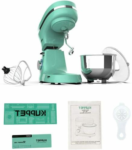 8-Speed Stand Kitchen with Dough Hook Green