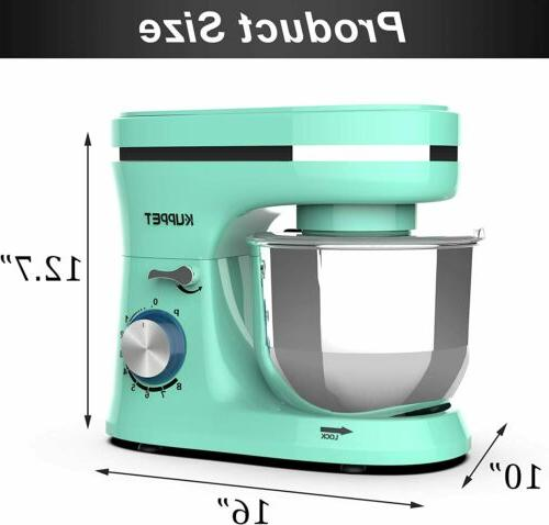 8-Speed Stand Kitchen with Dough Hook Wire Green