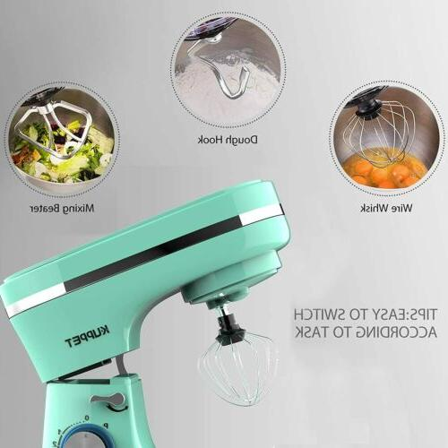 8-Speed Electric Kitchen with Dough Hook Green