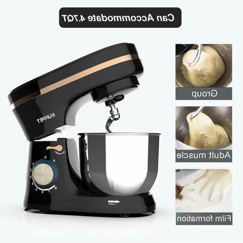 8 Tilt-Head Mixer Black