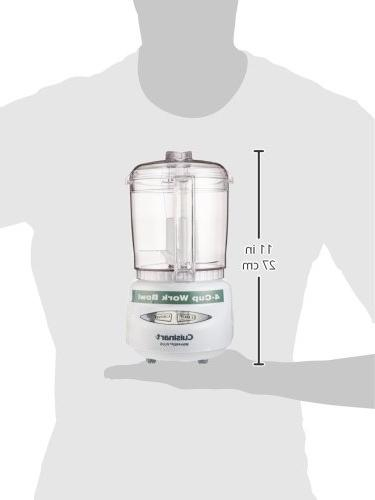 Cuisinart CGC-4WPC Mini-Prep Plus 4-Cup Food Processor,