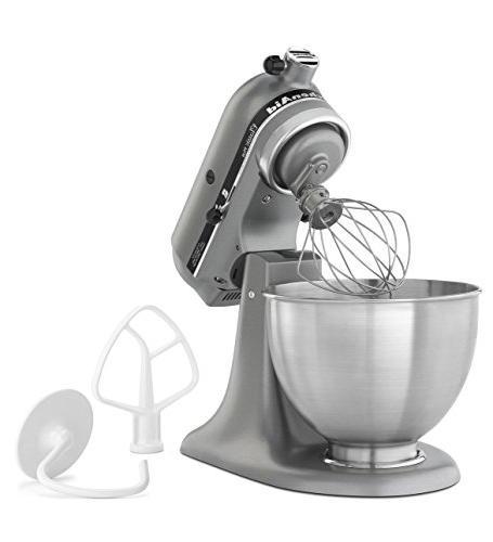 KitchenAid Classic 4.5-Qt. Tilt-Head Stand Mixer, Silver