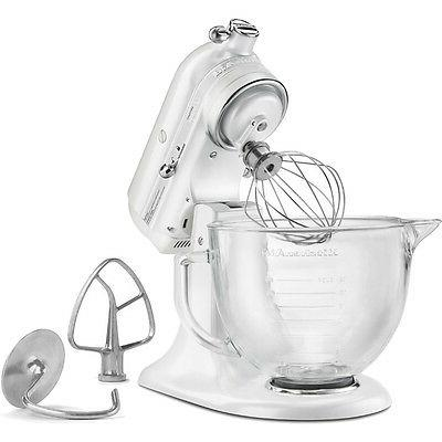 Kitchenaid - Series Tilt-head - Frosted Pearl White