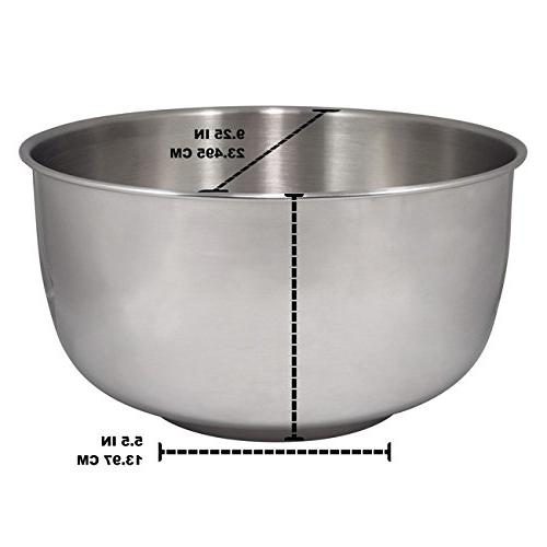 Replacement Stainless Bowl fits Sunbeam Oster