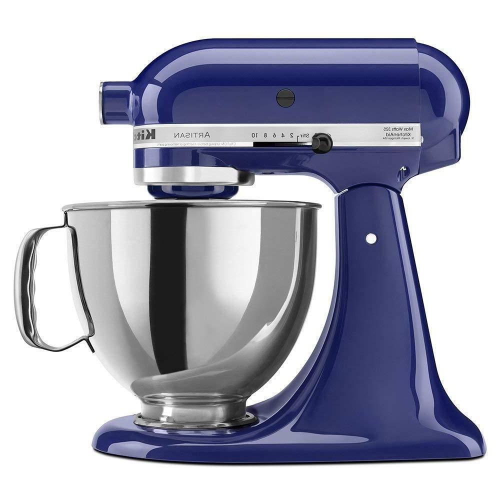 artisan 5 qt stand mixer cobalt blue