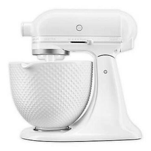 artisan stand mixer with 5qt ceramic hobnail