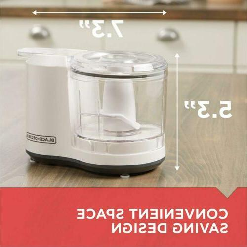 BLACK+DECKER 1.5-Cup Chopper, Assembly, HC150BW