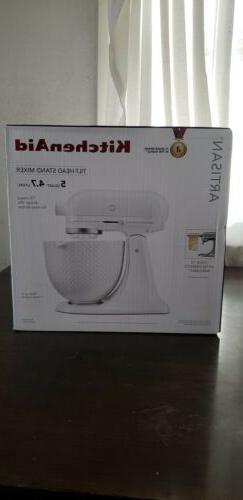 *BRAND NEW* Kitchenaid Artisan 5 qt. Stand Mixer w/Ceramic H
