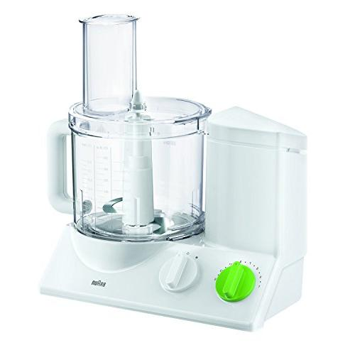 Braun Food Powerful motor, includes 7 Attachment + Chopper and Citrus Juicer , Made Europe with German