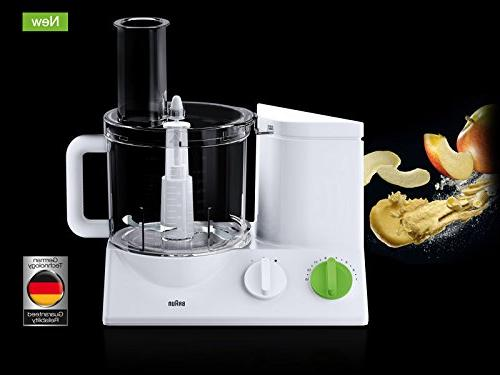 Braun Food Ultra Powerful motor, includes Attachment Blades + and Citrus Juicer , Made in Europe German