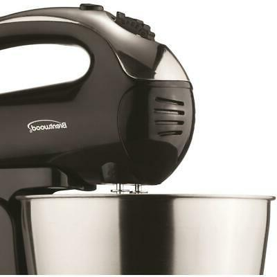 Brentwood Mixer With Bowl Qt. 5-Speed