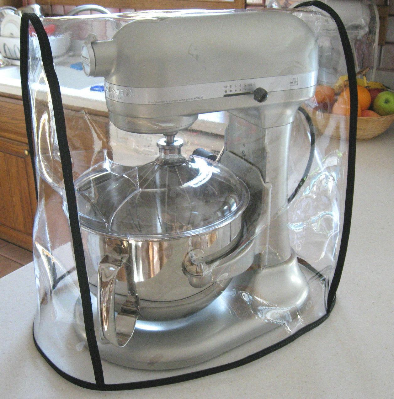 clear mixer cover bowl lift black trim