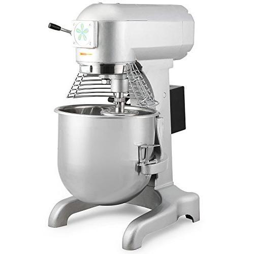 commercial food mixer mixing