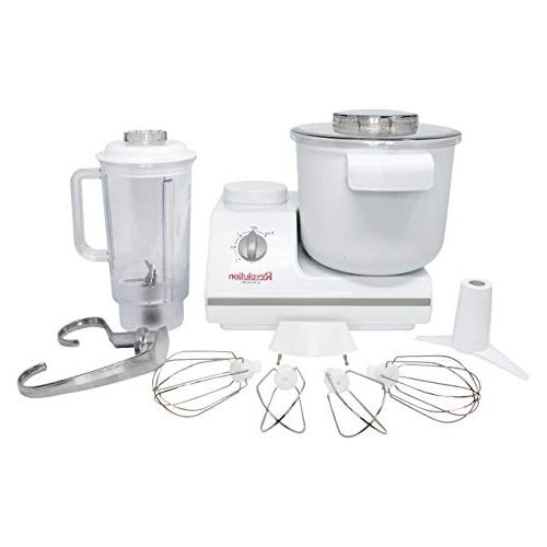 deluxe stand mixer includes blender