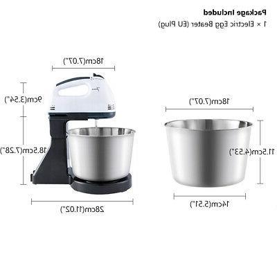 Electric Speed Bowl Cake Dough Blender