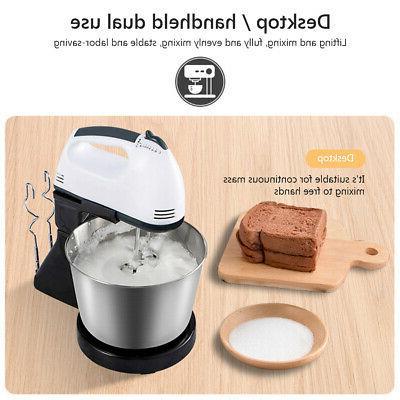 Electric Hand Speed Bowl Egg Cake Dough Blender EU