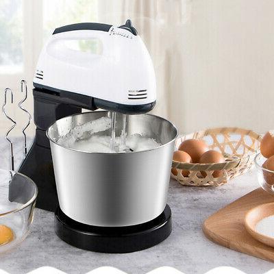 Electric Hand Speed Bowl Cake Mixer Blender 53