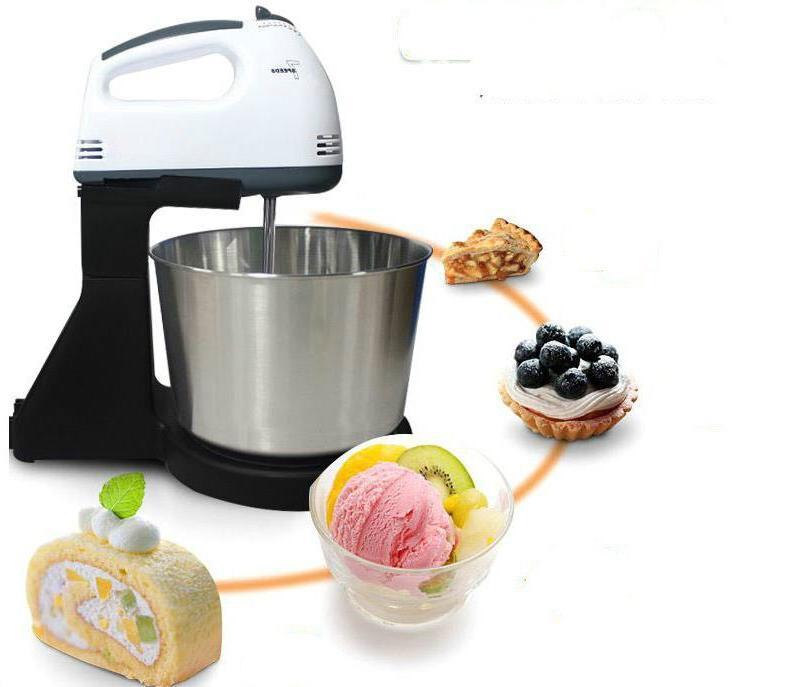 Electric Food Handheld Egg Blender Baking 7