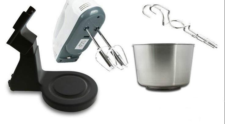 Electric <font><b>Mixer</b></font> Table &<font><b>Stand</b></font> Cake Handheld Blender Baking Whipping Cream 7 Speed