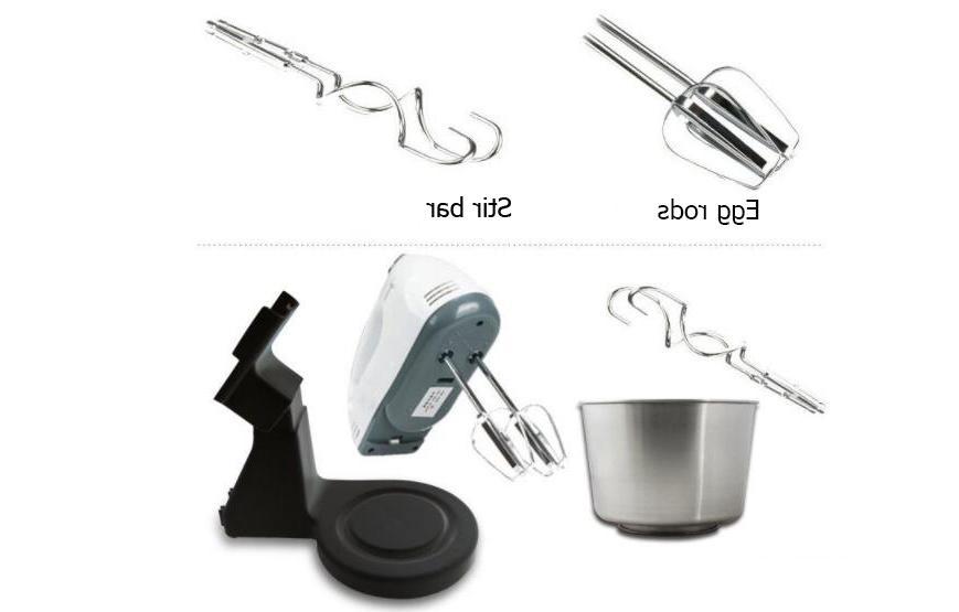 Hoodakang Food Table Cake Dough Blender Whipping Machine 7 Speed