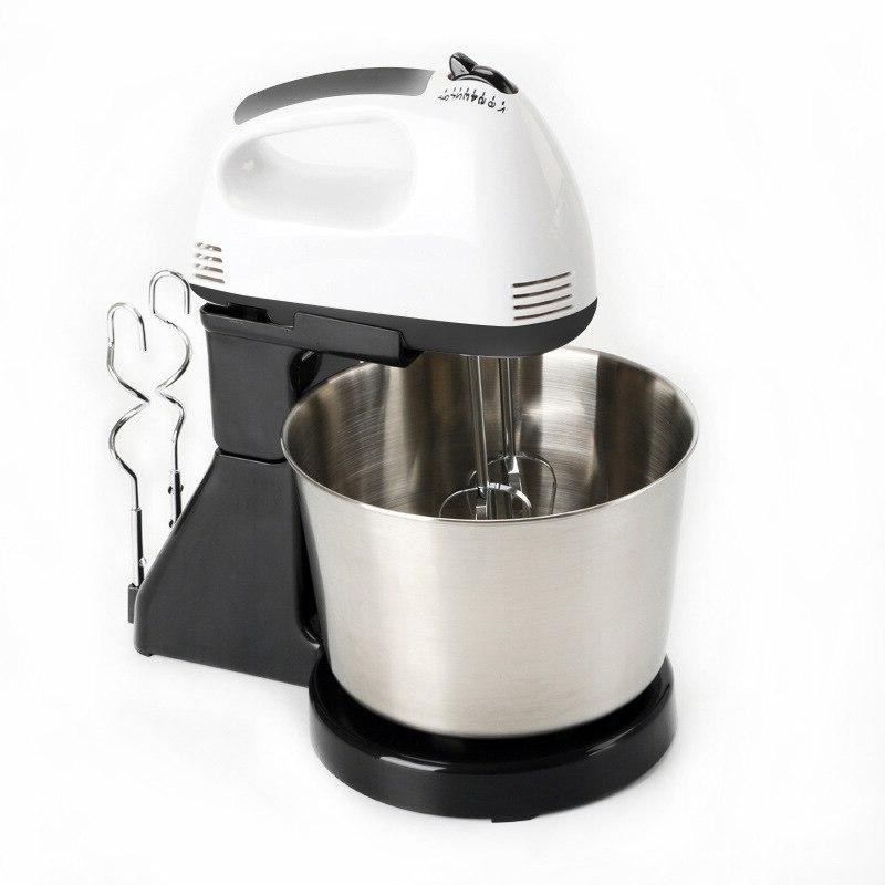 Hoodakang Electric Table &Stand Cake <font><b>Mixer</b></font> Handheld Blender Baking Machine Speed