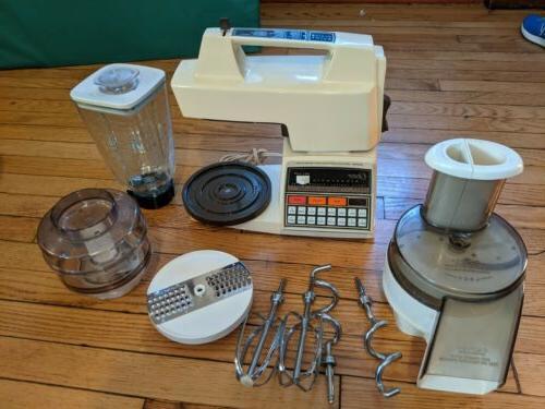 electronic kitchen center blender mixer processor