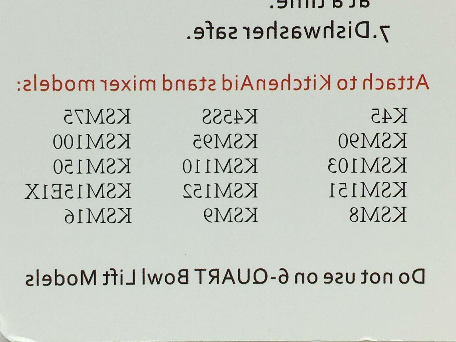 Aizara Flat Beater Spatula 5-Quart Mixers, New