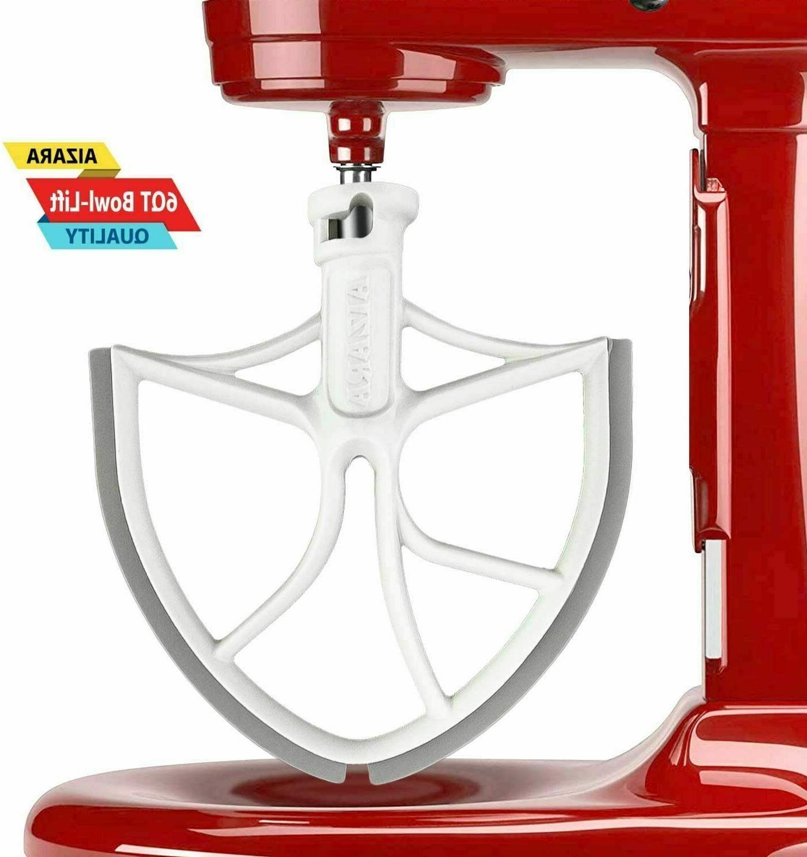 flat flex edge beater 6 qt kitchenaid