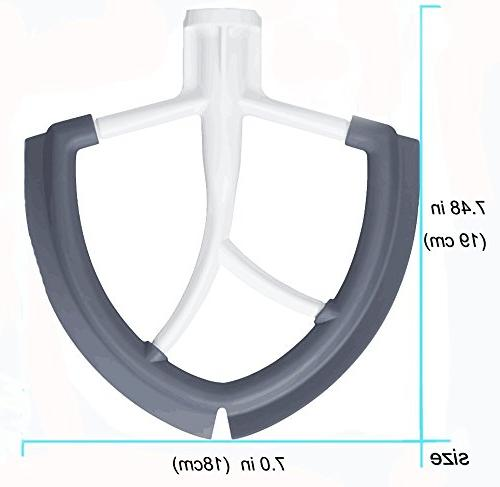 Gvode Flex for KitchenAid Mixer 6 quart-Flat with edges
