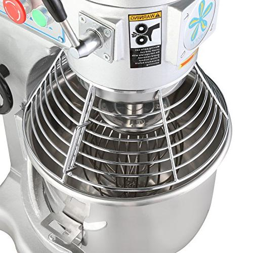 FoodKing Food Mixing Machine Stand Mixer 30 Electric 3 Agitator Commercial Grade