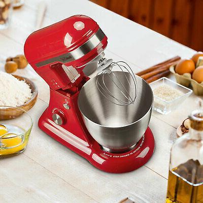 Steel Mixer, Red