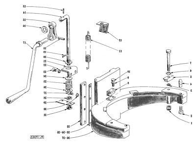 Hobart Mixer D 30 part 00-070411 Bowl #4 2pc set