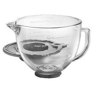 k5gb 5 qt tilt head glass bowl