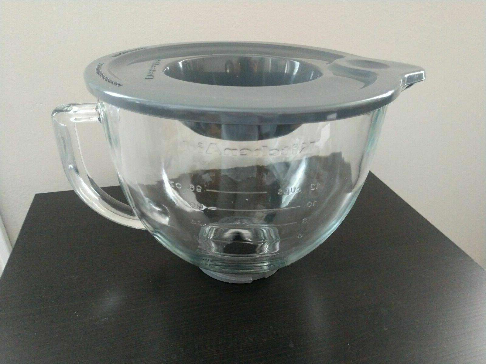 k5gb 5 quart glass bowl