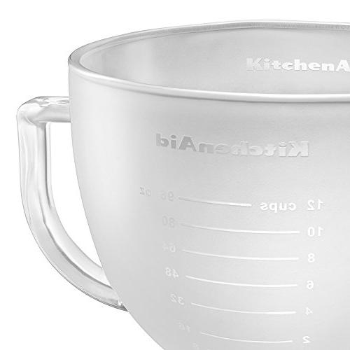 KitchenAid Frosted Markings and Lid,