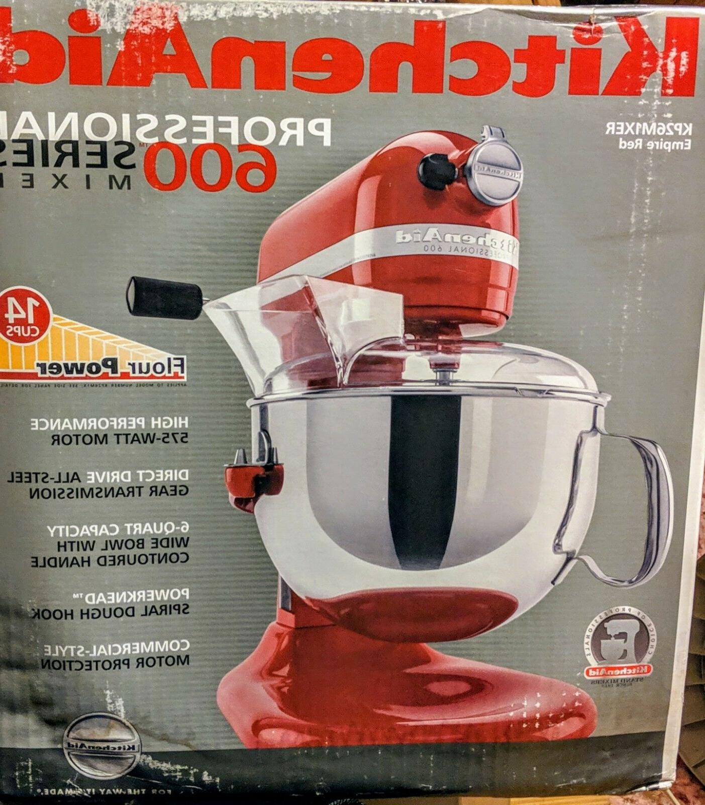 KitchedAid Pro 600 575W - Red