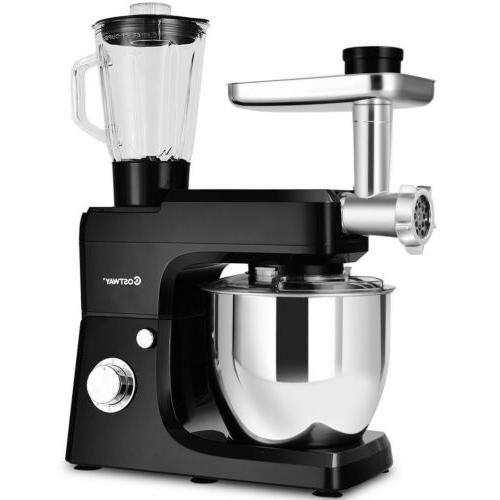 3 In 1 Upgraded Stand Mixer with 7QT Stainless Steel Bowl Me