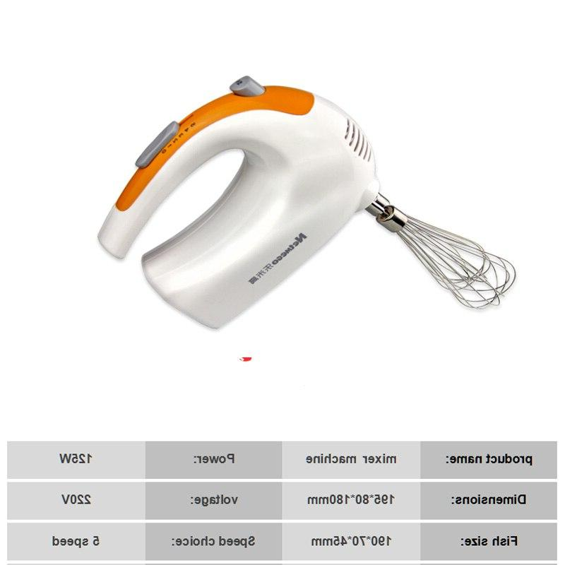 kitchen homeuse multifunctional <font><b>mixer</b></font> with 5 speeds egg beater cup Mini Handle <font><b>Mixer</b></font>