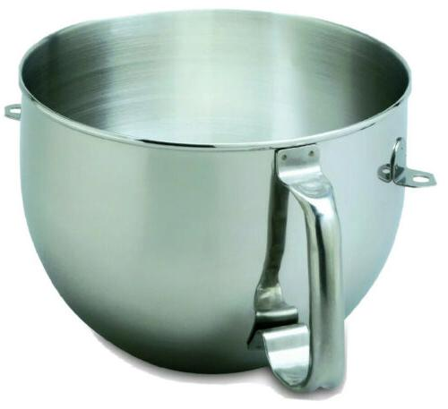 New KitchenAid Bowl for Stand Mixer Steel KN2B6PEH