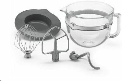 kitchenaid glass bowl ksmf6gb